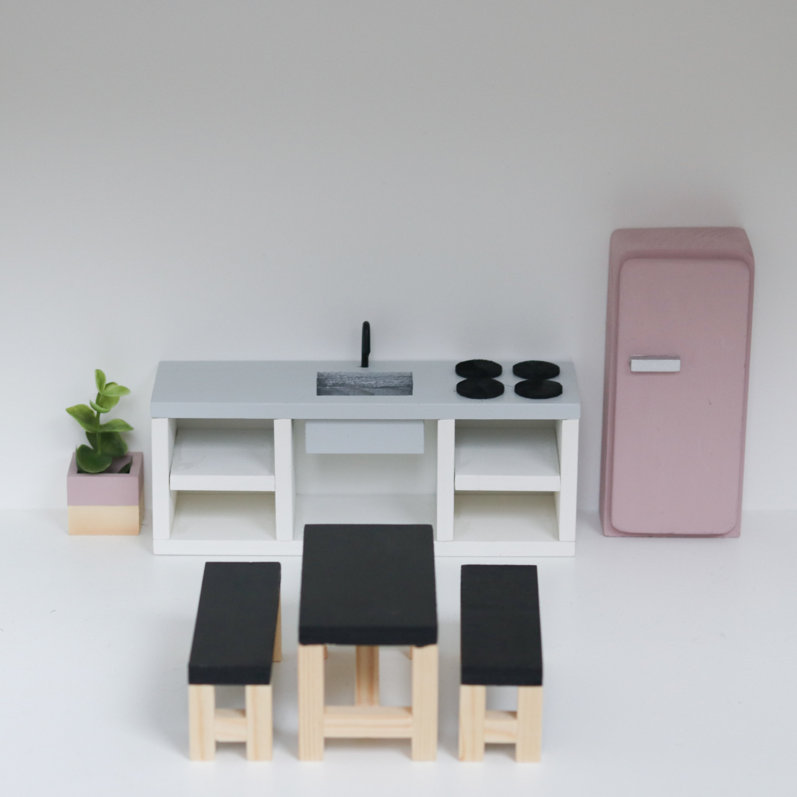 Keuken Betonlook 25 cm-2