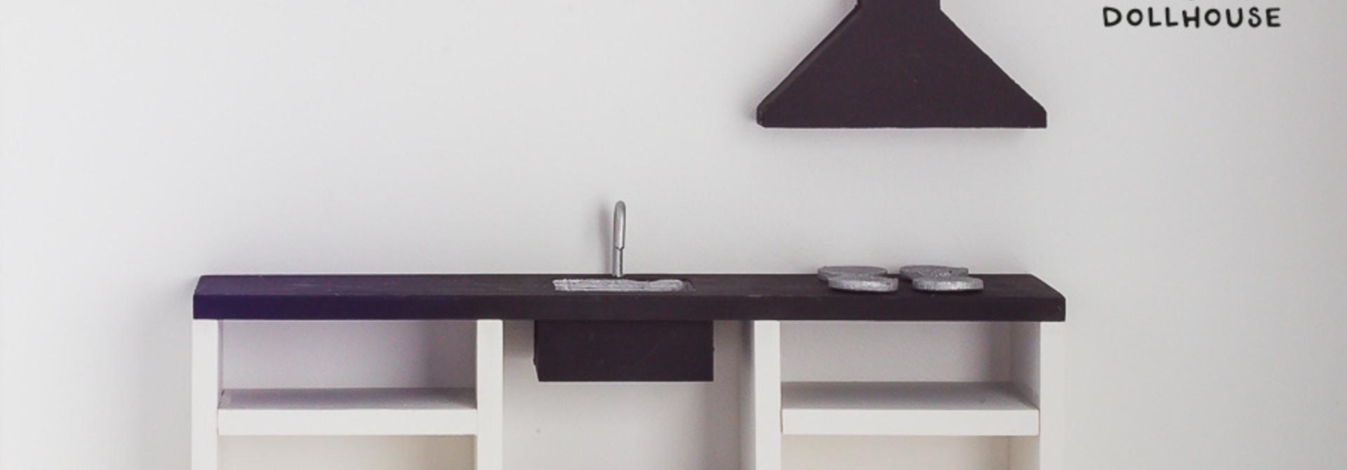 Keuken Zwart 25 cm