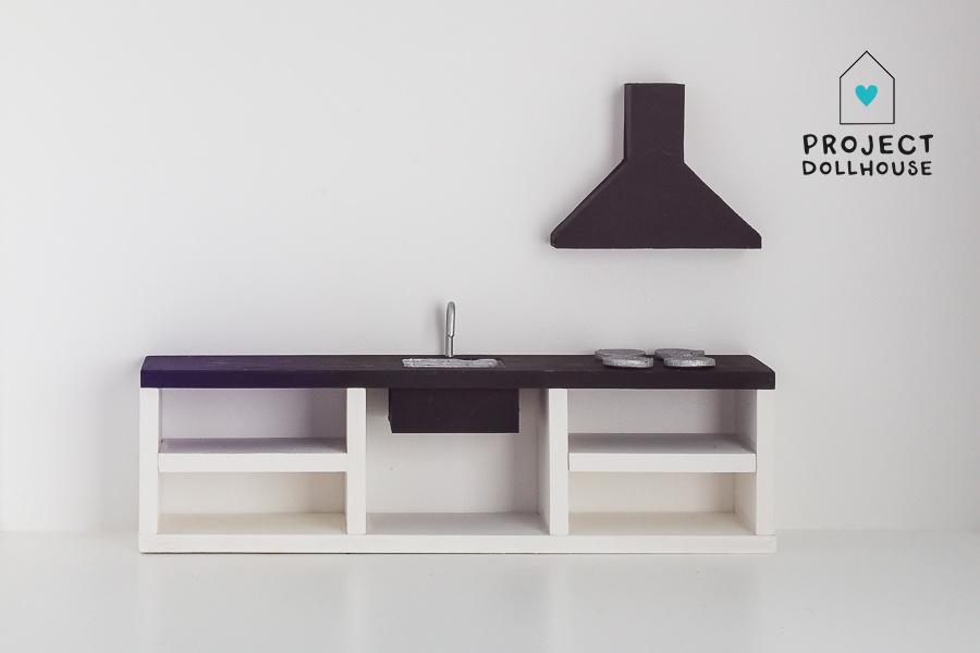 Keuken Zwart 25 cm-1