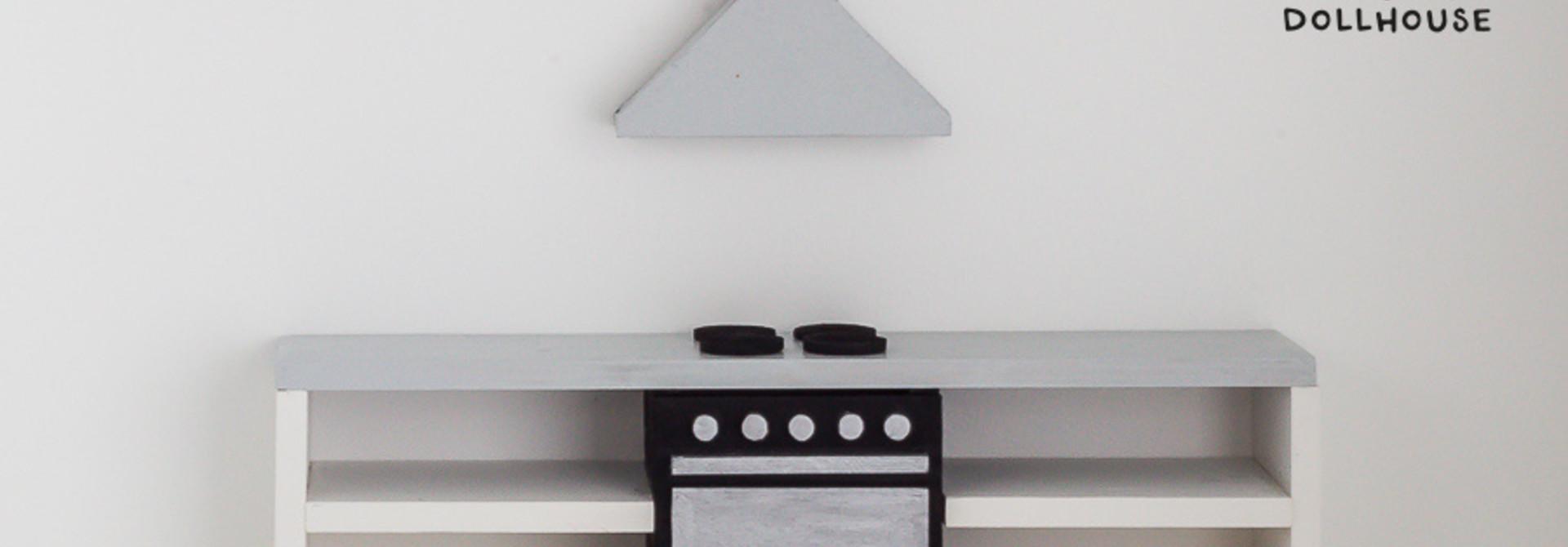 Keuken Betonlook met oven 25 cm