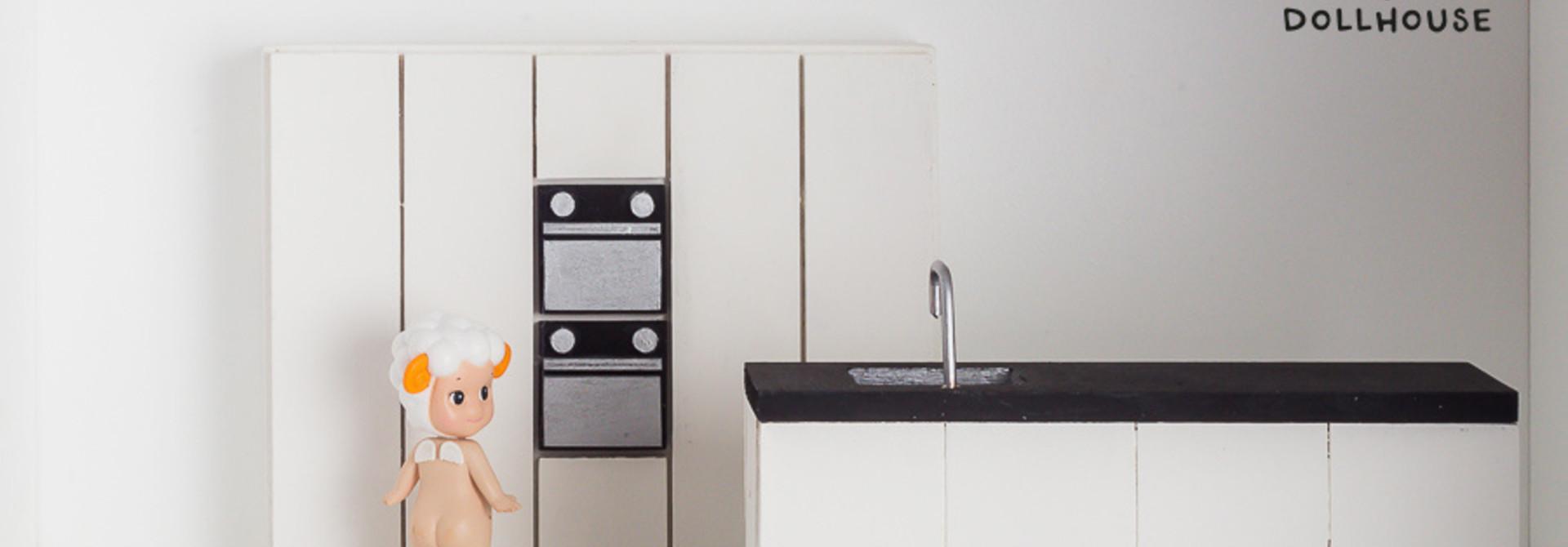 Complete kitchen white