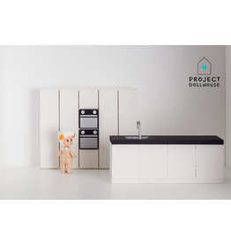 Project Dollhouse Complete kitchen white