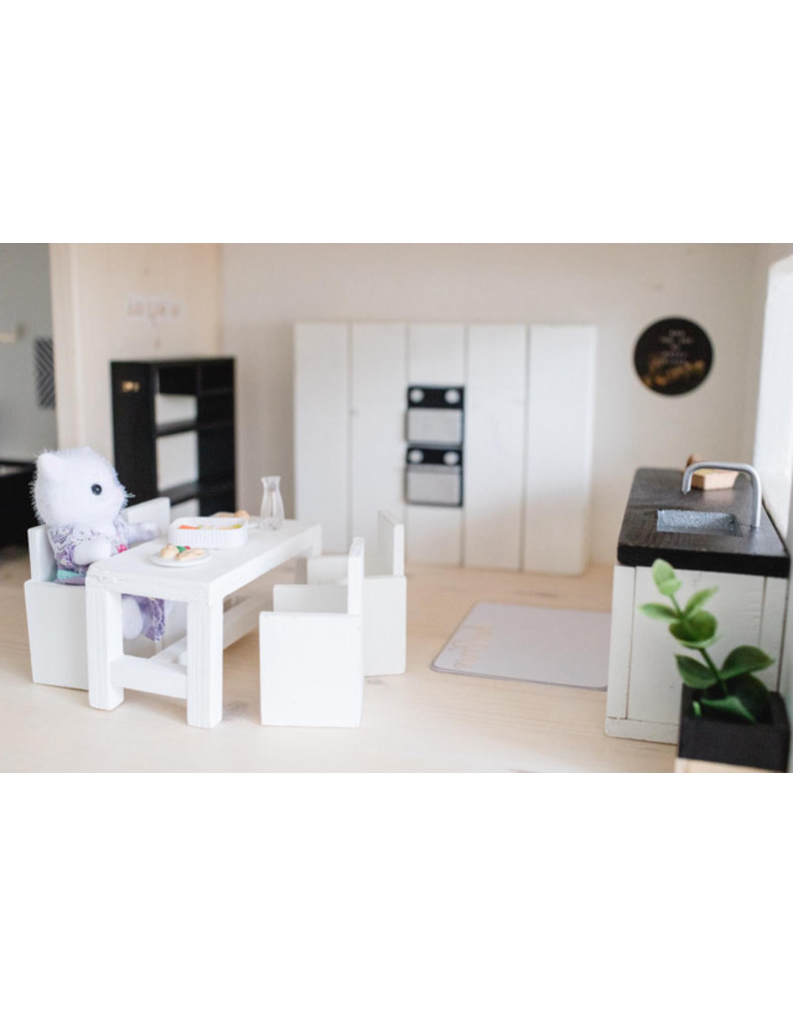 Project Dollhouse Complete keuken Wit