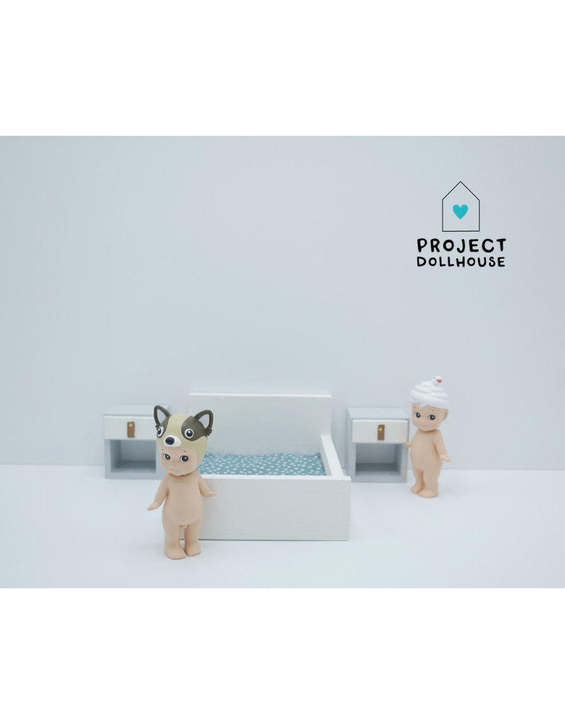 Project Dollhouse Nachtkastjes kubus Grijs