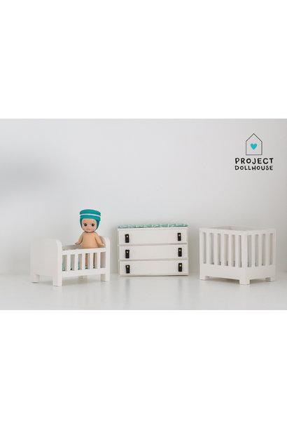 Babykamer compleet wit