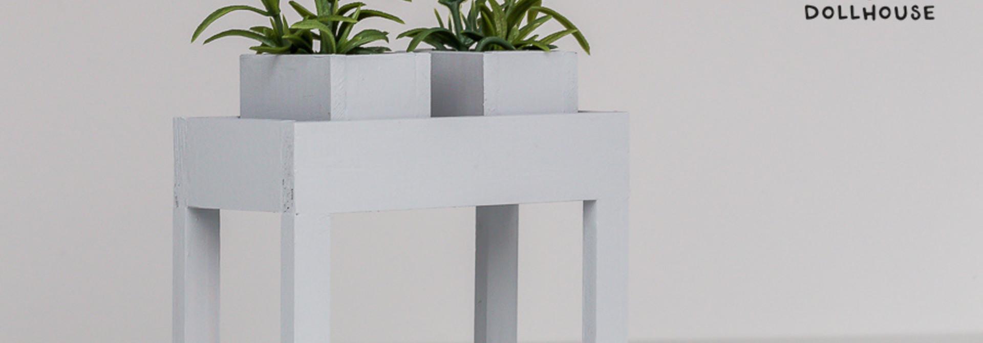 Moderne plantentafel Lichtgrijs