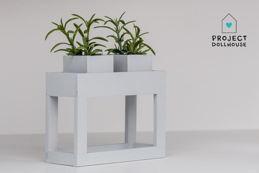 Moderne plantentafel Lichtgrijs-1