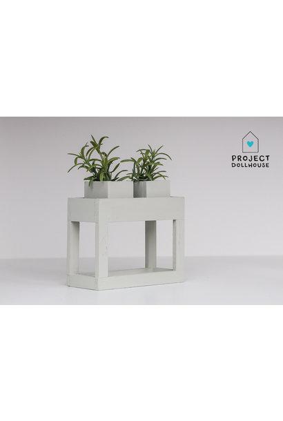 Moderne plantentafel early dew