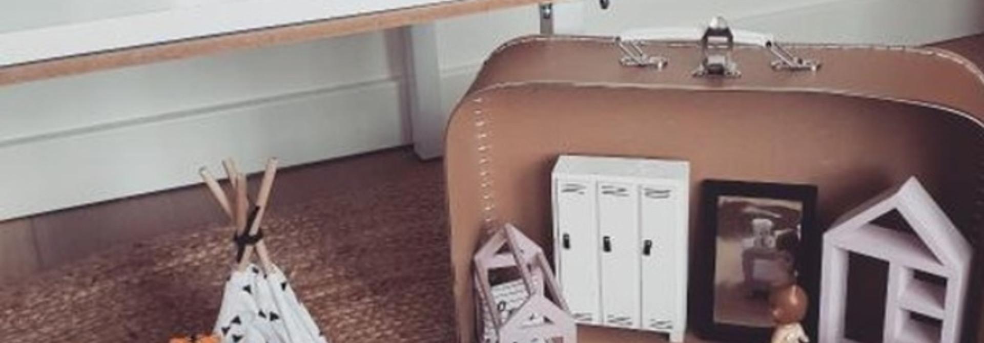 Poppenhuis Koffer Craft