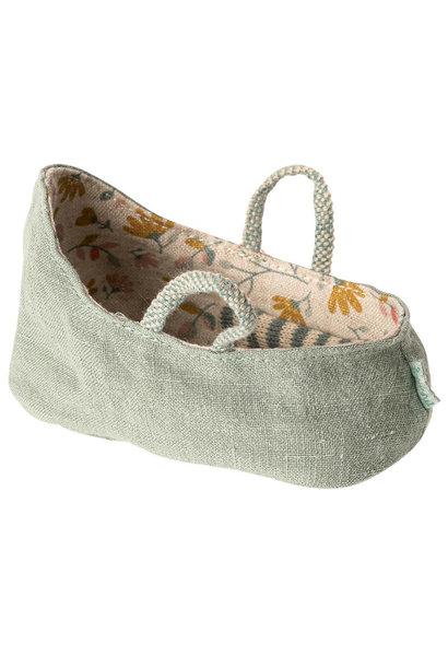 Carry Cot - Dusty Green