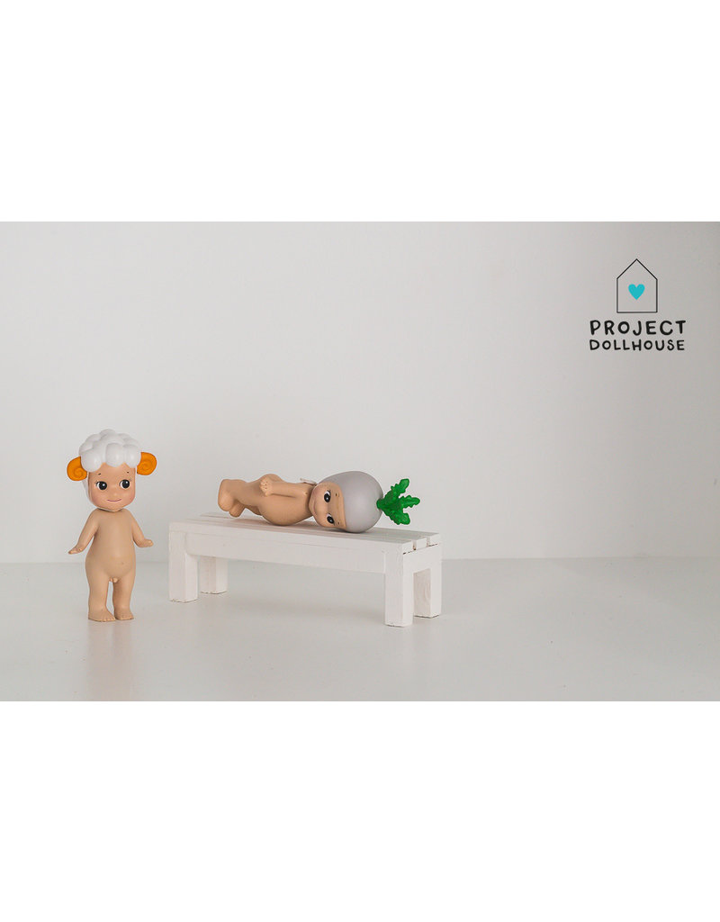Project Dollhouse Decoration Bench