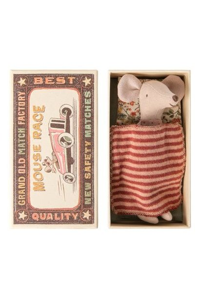 Big Sister Mouse 1 in Matchbox - 12 cm