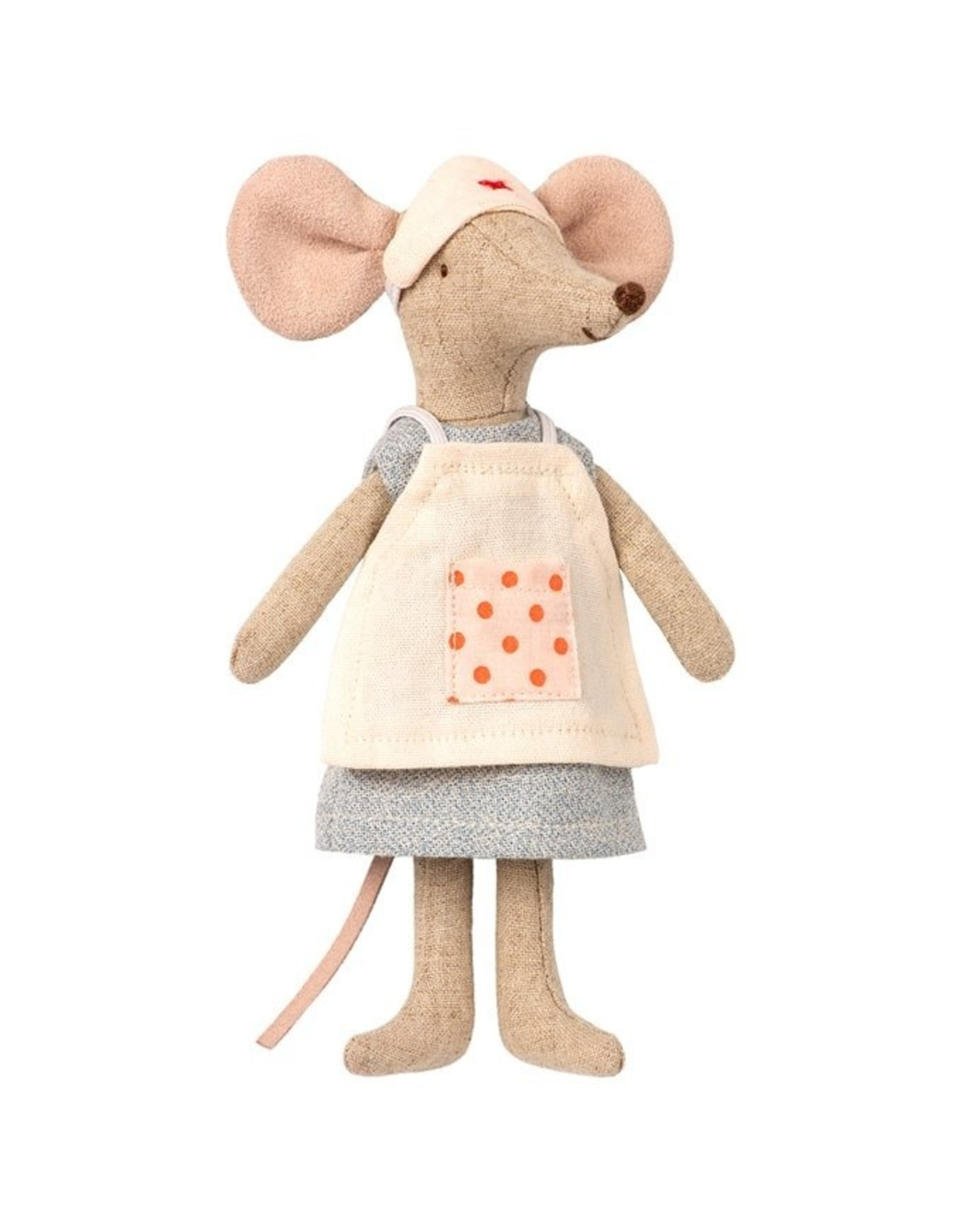 Maileg Nurse Clothes - Mother Mouse