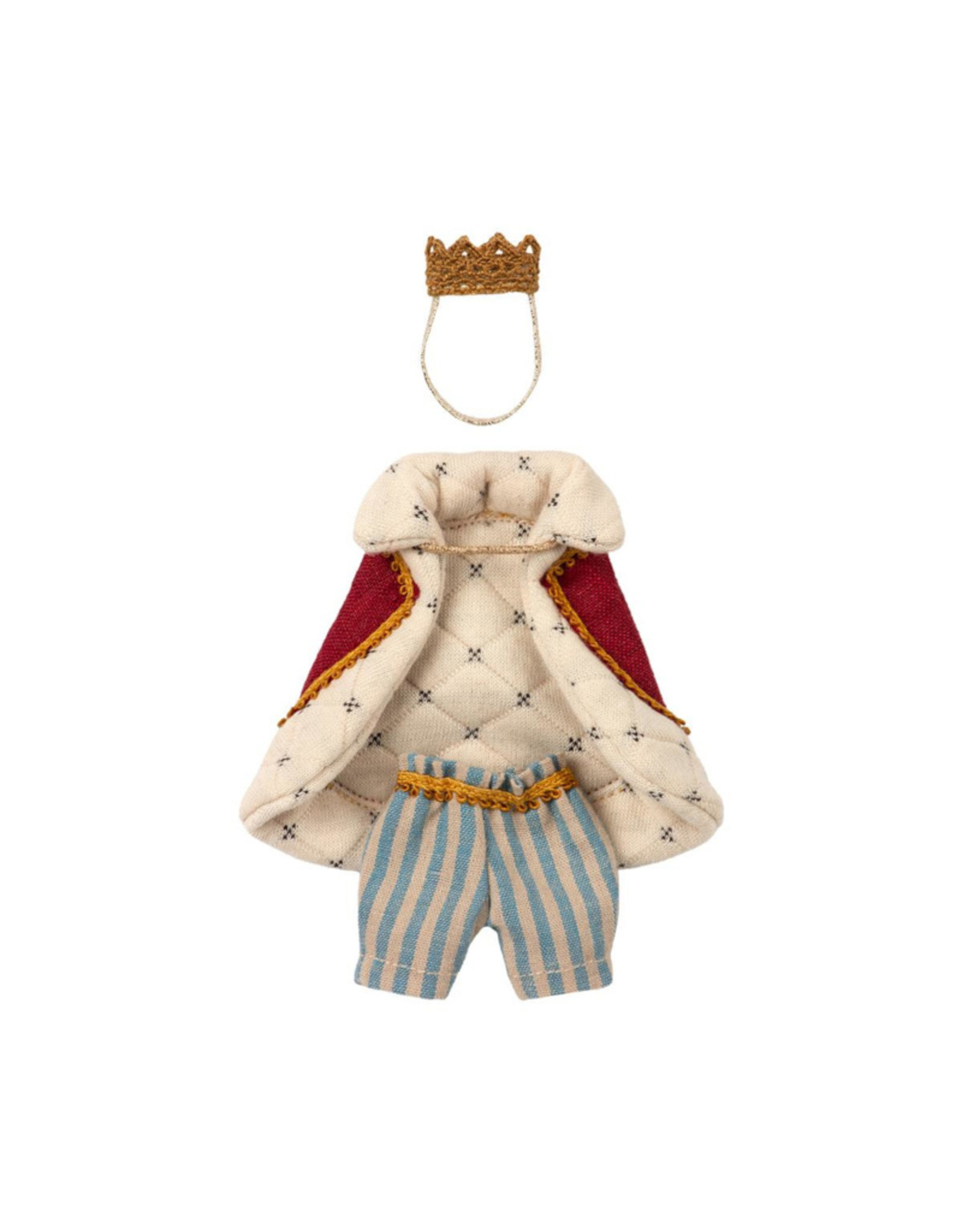 Maileg King Clothes - Dad Mouse