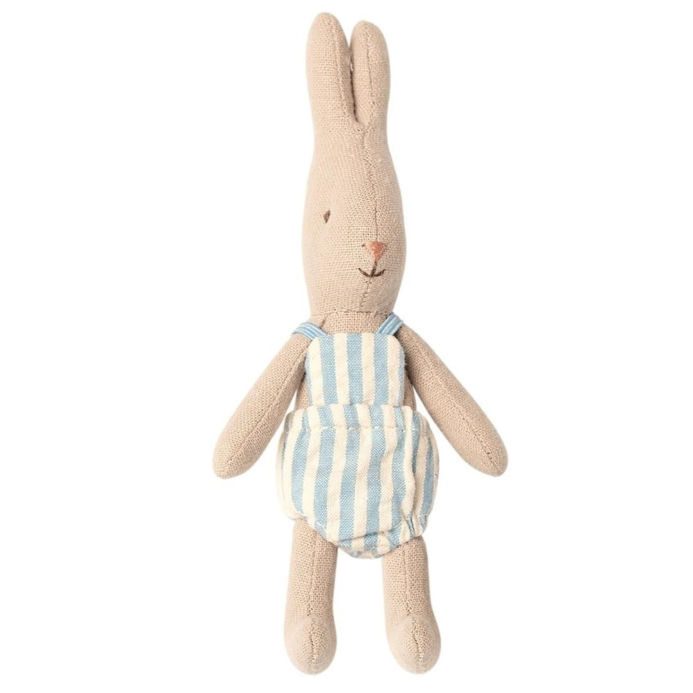 Rabbit with Blue Striped Suit - Micro 16 cm-1