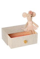 Maileg Dancing mouse in Bed - Little Sister 10 cm