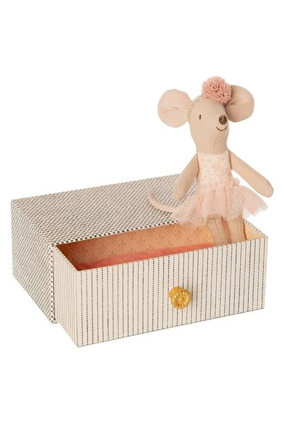 Dancing mouse in Bed - Little Sister 10 cm