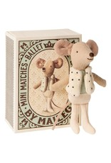 Maileg Dancer in Match box - Little Brother 10 cm
