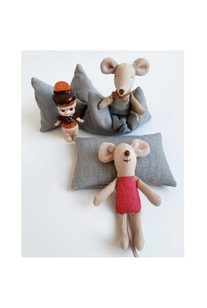 Beanbag Dollhouse - Grey