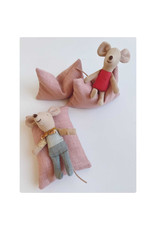 ApplesauceAndKetchup  Beanbag Dollhouse - Old Pink