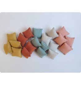 ApplesauceAndKetchup Glimmer Pillow Dollhouse - 5 colors