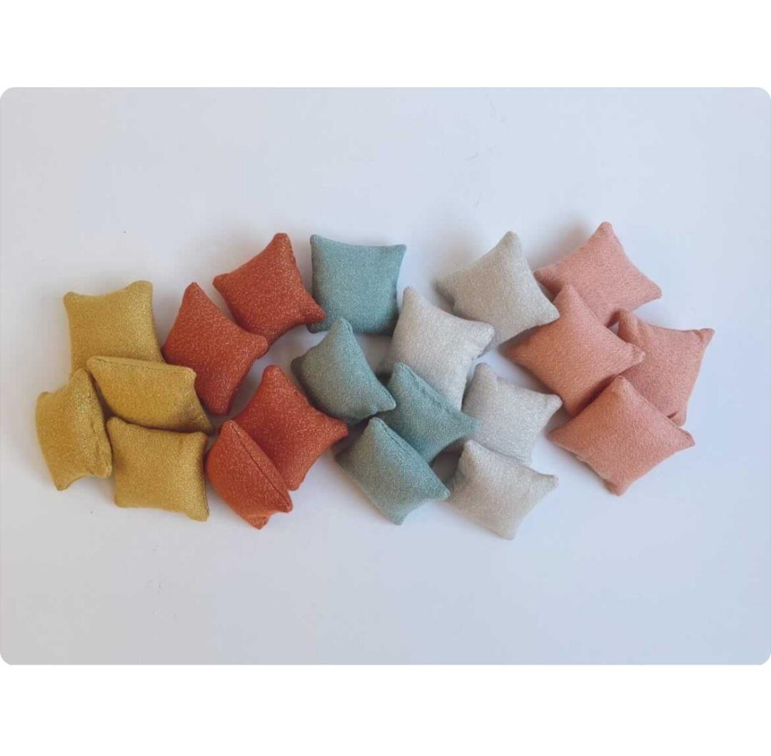 Glimmer Kussen Poppenhuis - 5 kleuren-1