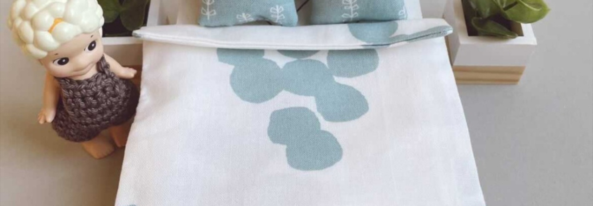Bedding Dollhouse Double bed Dots A+K