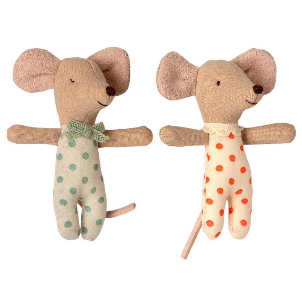 Baby Twins in Matchbox - 8 cm-2
