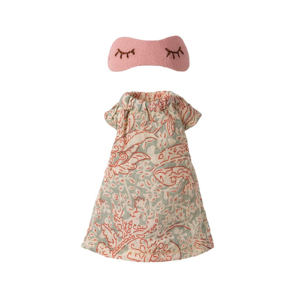 Nightgown with Sleeping Mask - Mother Mouse-1