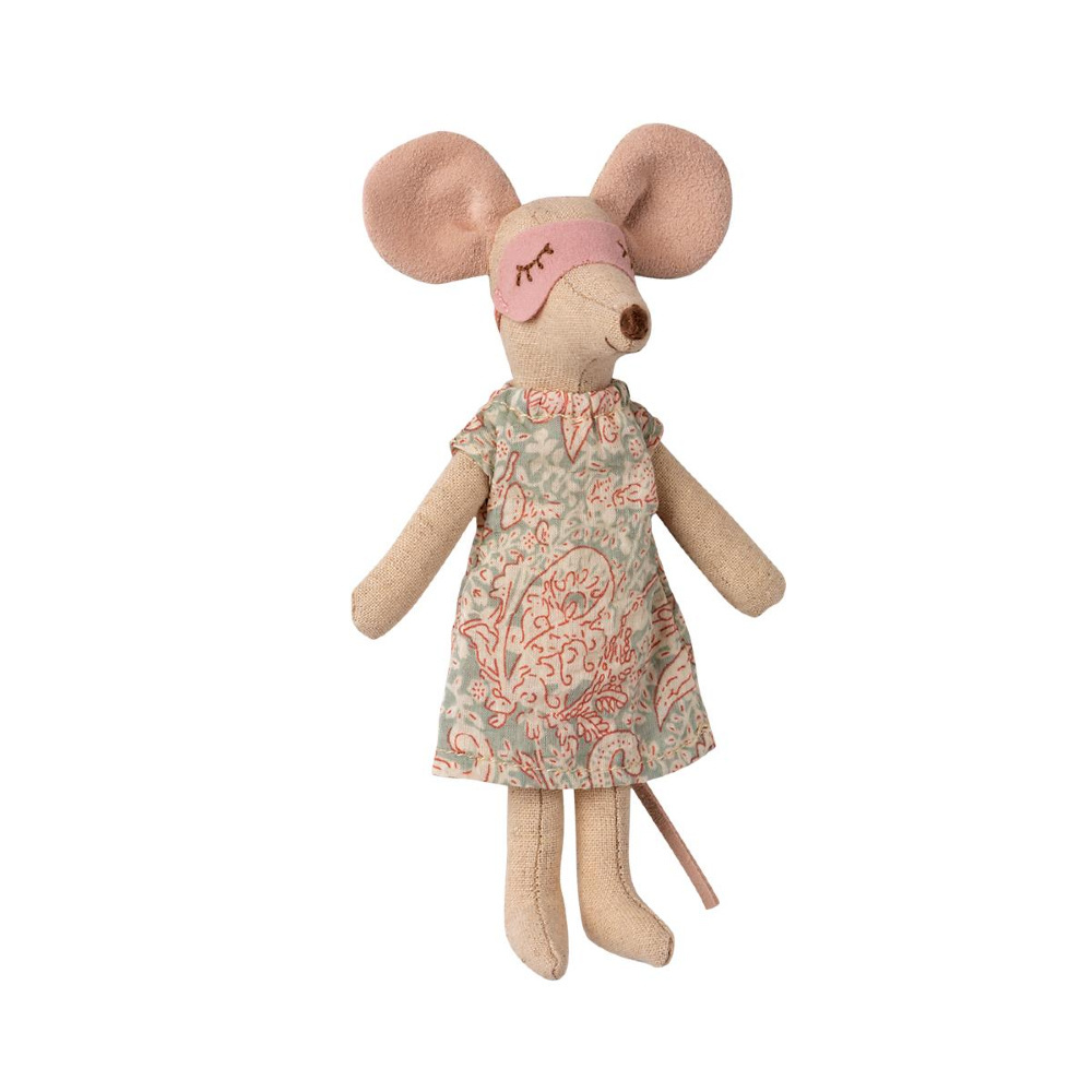 Nightgown with Sleeping Mask - Mother Mouse-2