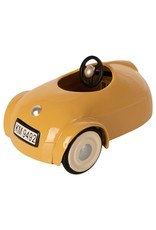 Maileg Little Brother Mouse in Car with Garage - Yellow
