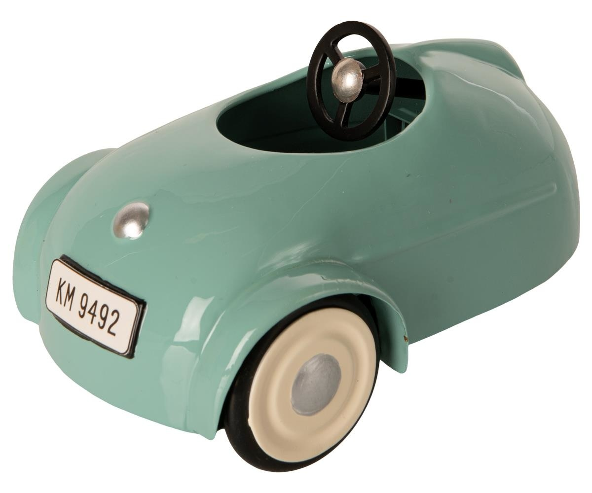 Little Brother Mouse in Car with Garage - Blue-3