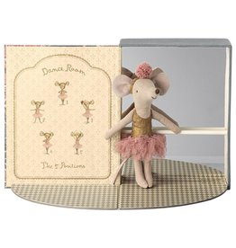 Maileg Dancing Mouse in Studio - Big Sister 13 cm