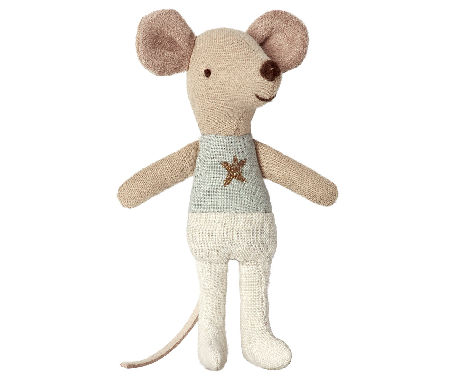 Little Brother Mouse in Matchbox - 10 cm-2