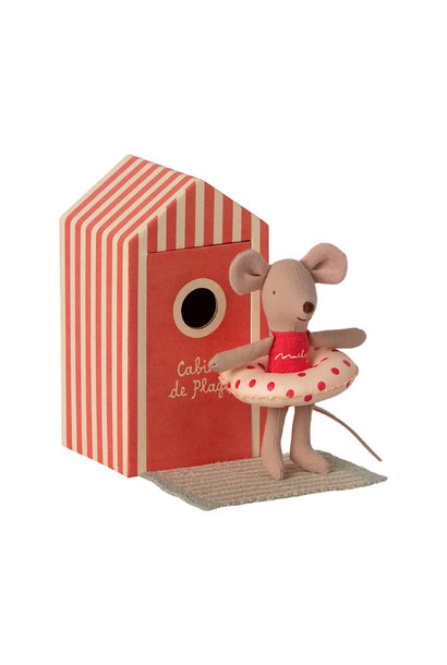 Beach Mouse - Little Sister Mouse in Beach House