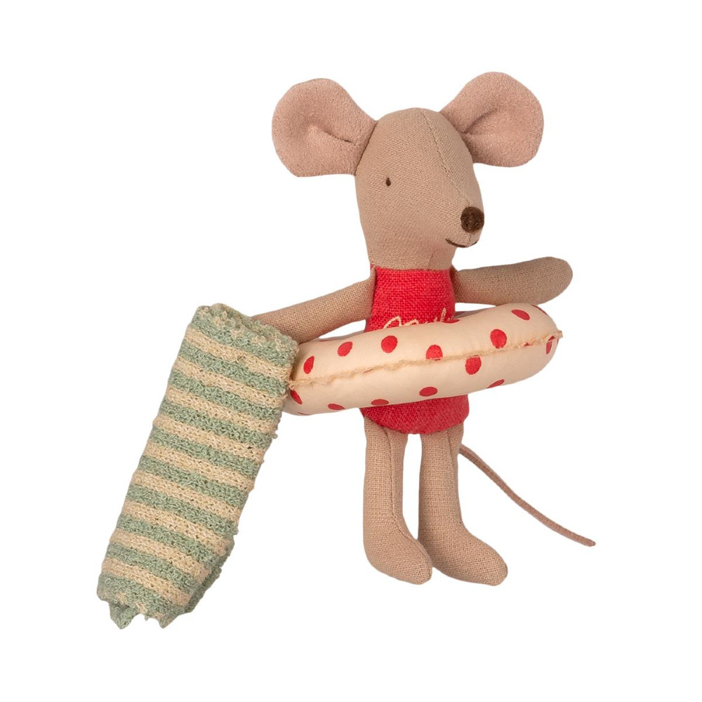 Beach Mouse - Little Sister Mouse in Beach House-3