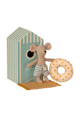 Maileg Beach Mouse - Little Brother Mouse in Beach House
