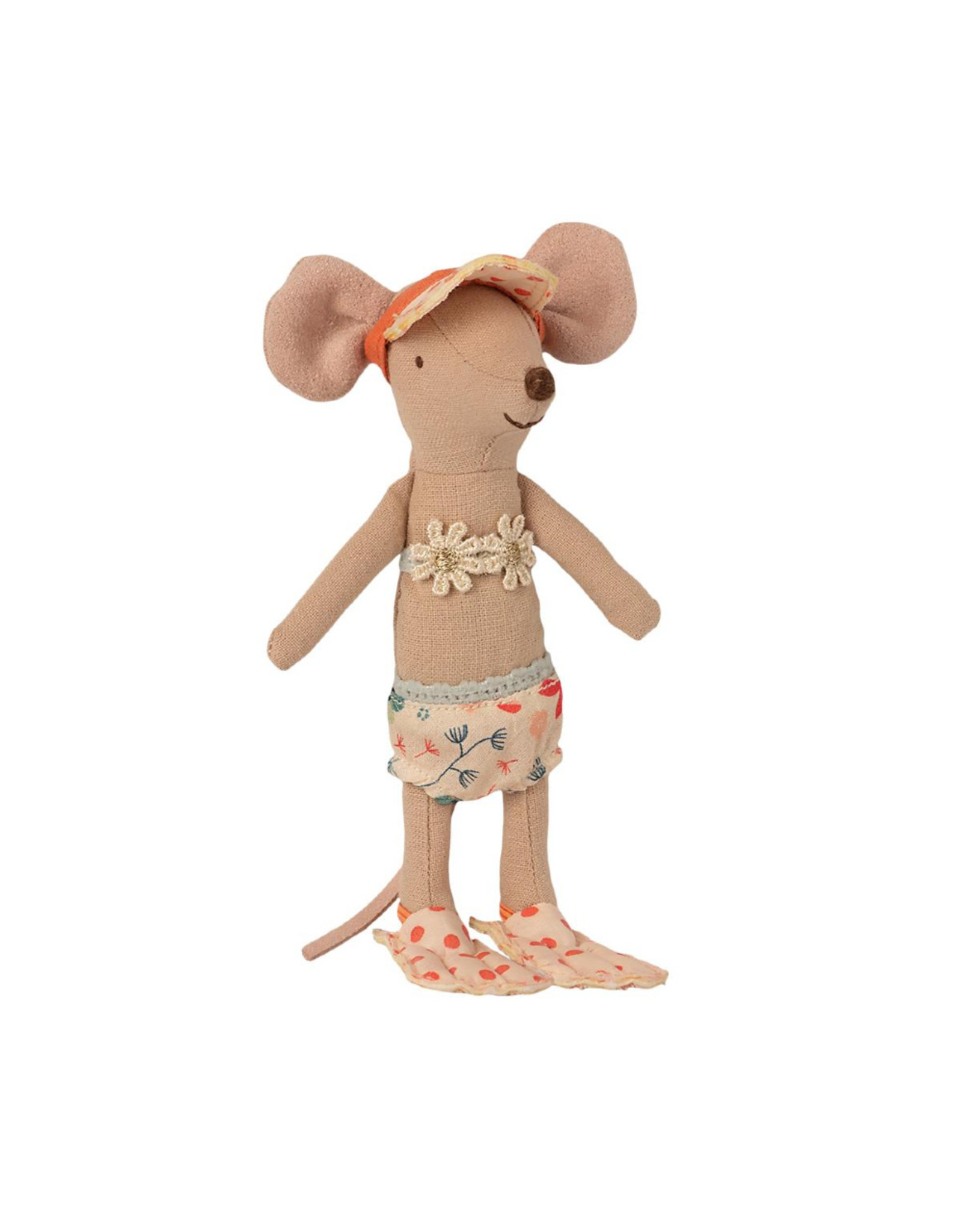 Maileg Beach Mouse - Big Sister Mouse in Beach House