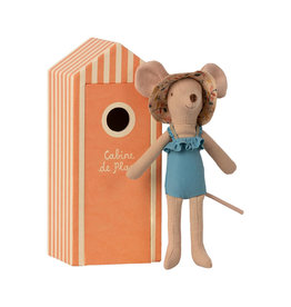 Maileg Beach Mouse - Mother Mouse in Beach House
