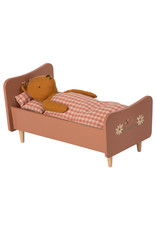 Maileg Wooden Bed - Teddy Mother - Pink