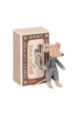 Maileg Little Brother Mouse in Matchbox - 10 cm