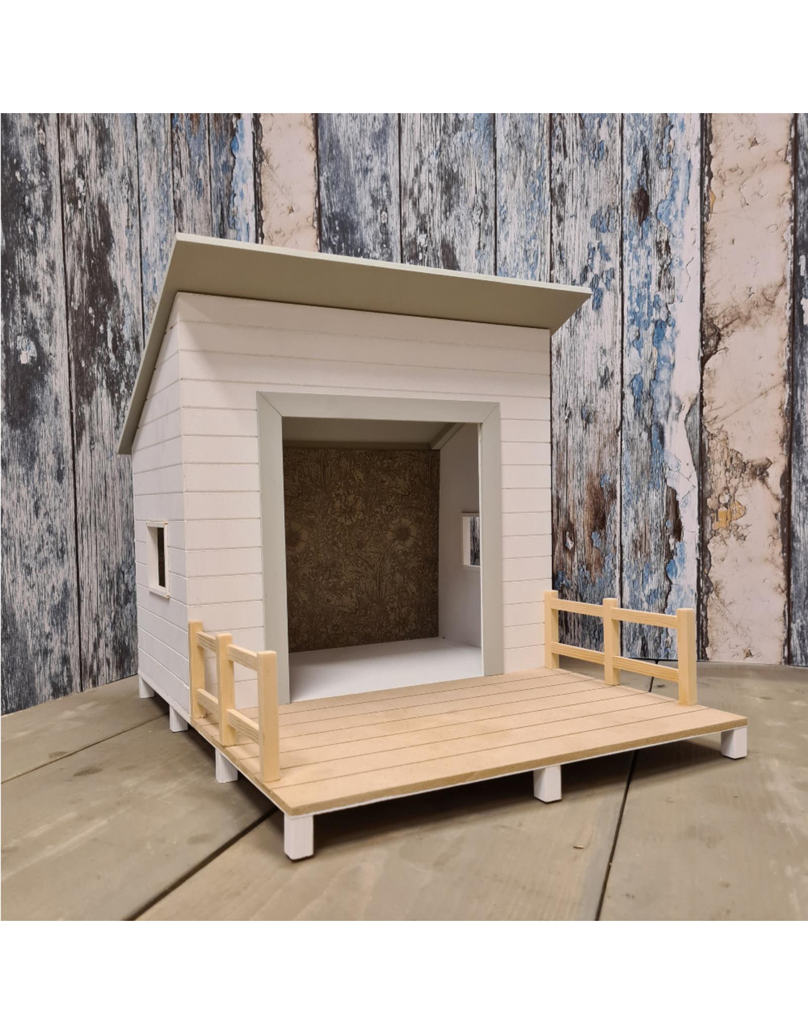 Project Dollhouse Strand Huisje Gentle Green