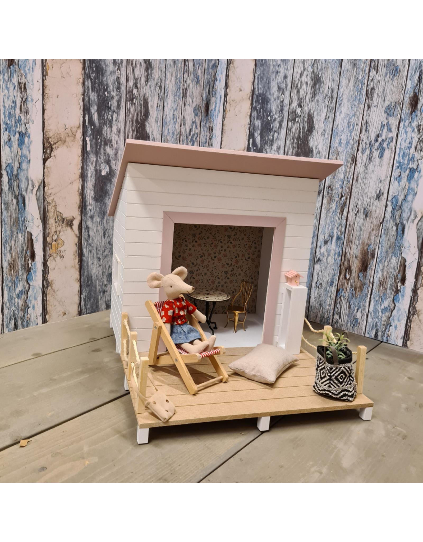Project Dollhouse Strand Huisje Precious Pink