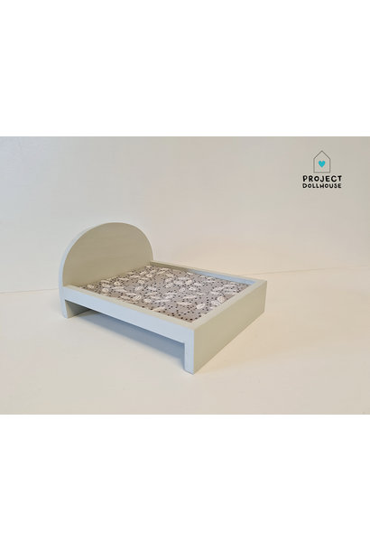 Bed for Maileg Mouses Big - Gentle Green