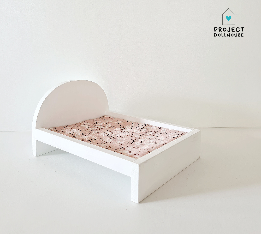 Bed for Maileg Mouses Big - White-1
