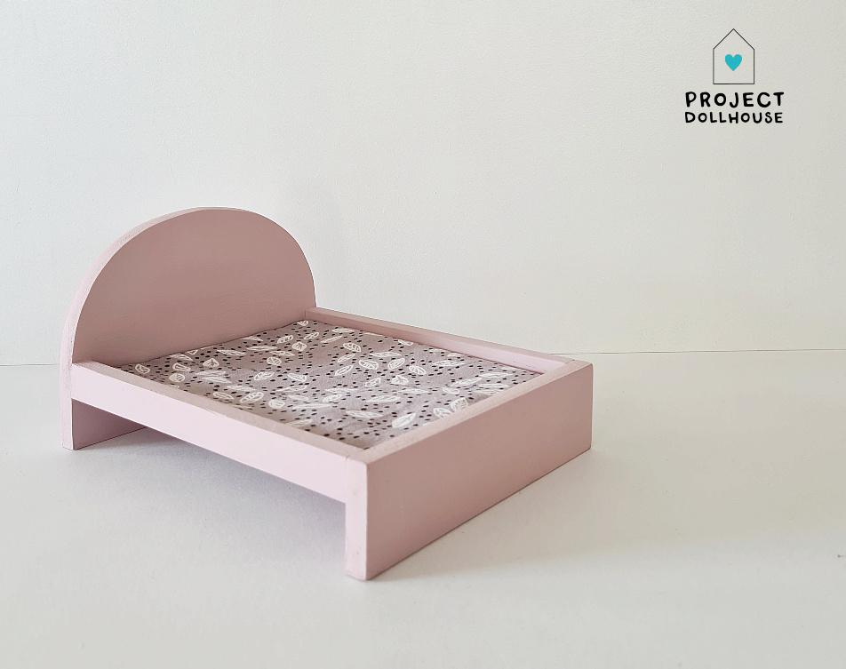 Bed voor Maileg muisjes Groot - Precious Pink-1