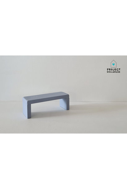 Side Table for Maileg Bed - Blurry Blue