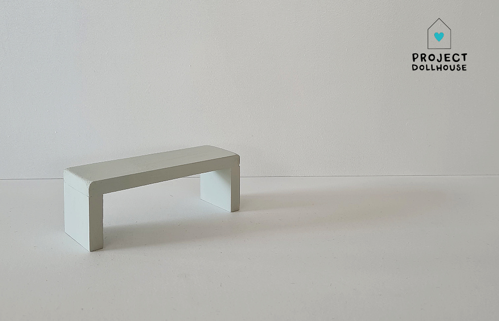 Side Table for Maileg Bed - Gentle Green-1