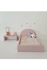 Project Dollhouse Bijzet Tafel voor Maileg Bed - Precious Pink