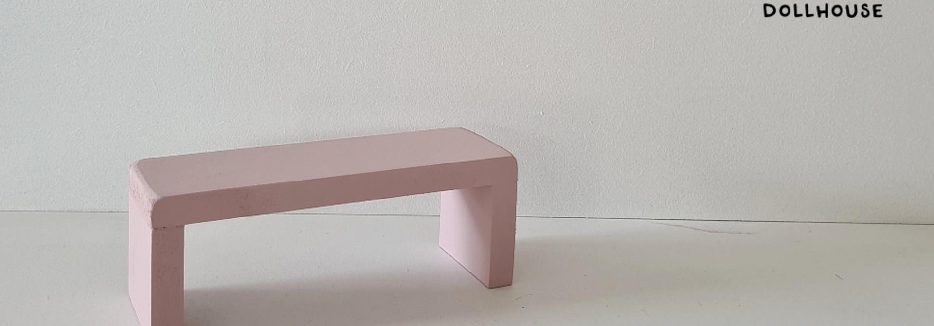 Bijzet Tafel voor Maileg Bed - Precious Pink